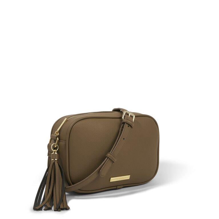 Sophia Tassel Purse Sustainable Style in Brown