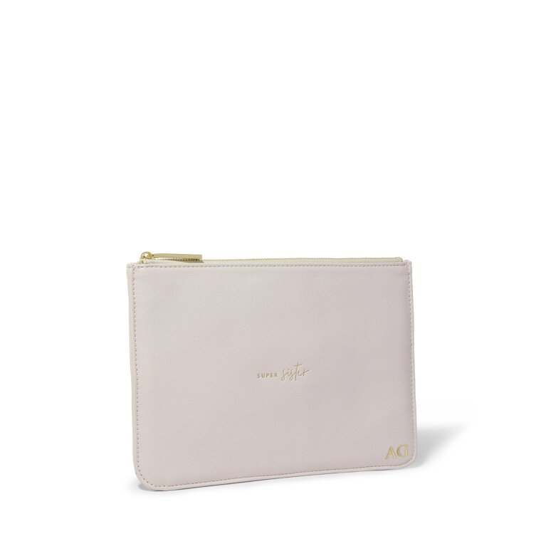 Perfect Pouch Sustainable Style Super Sister in Dusty Lilac