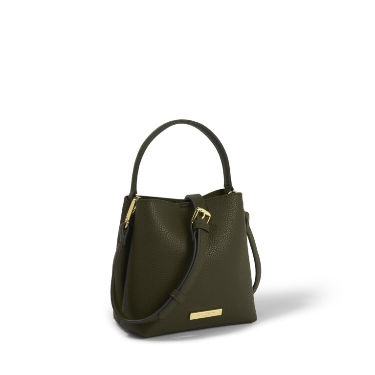 Lucie Crossbody Purse in Olive