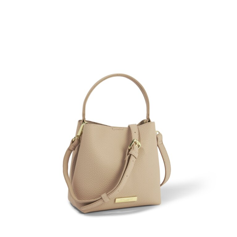 Lucie Crossbody Purse in Pale Pink