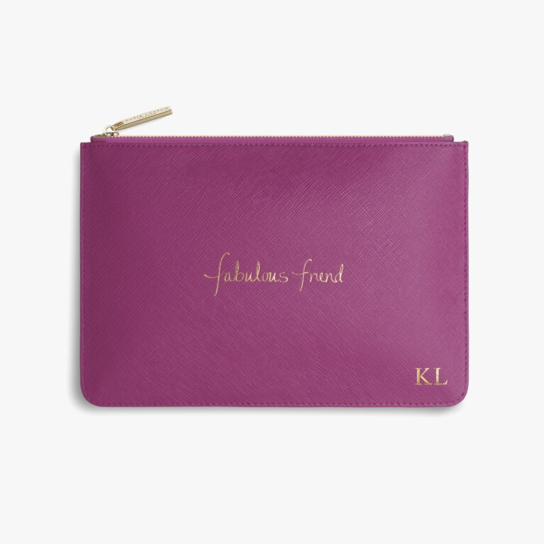 Perfect Pouch Fabulous Friend In Cerise Pink