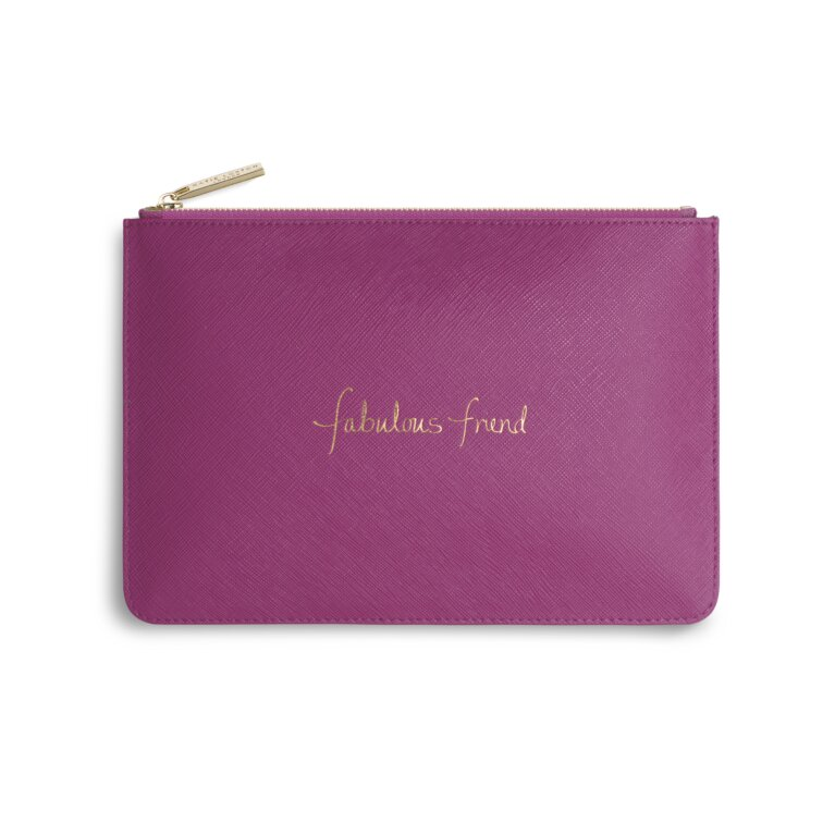 Perfect Pouch | Fabulous Friend | Cerise Pink