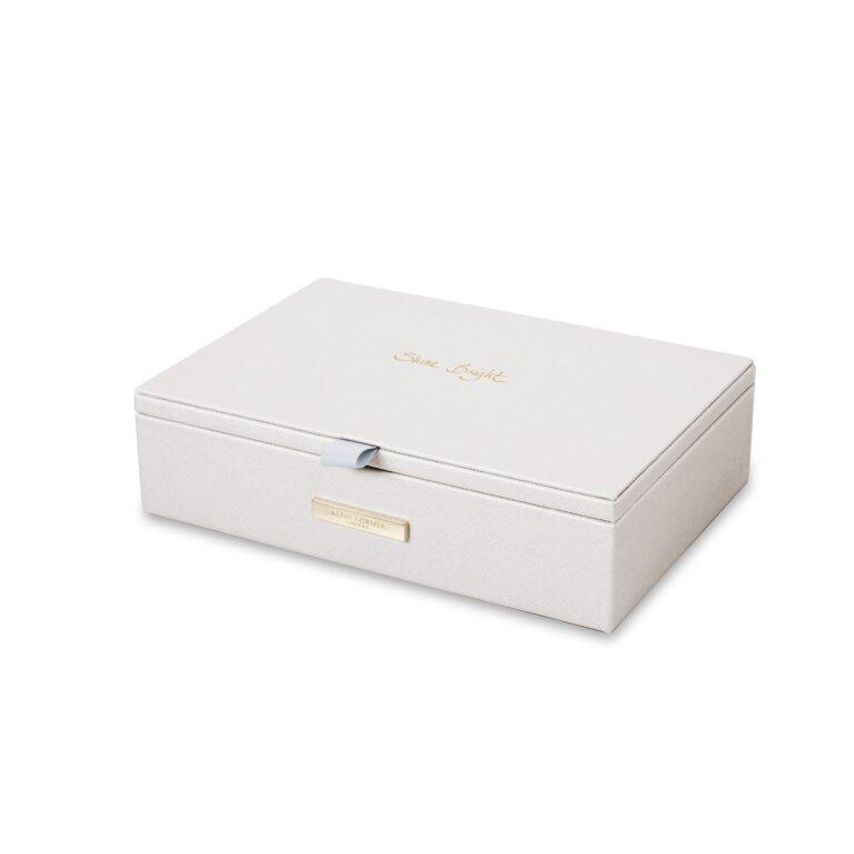 Jewelry Box | Shine Bright | Metallic White
