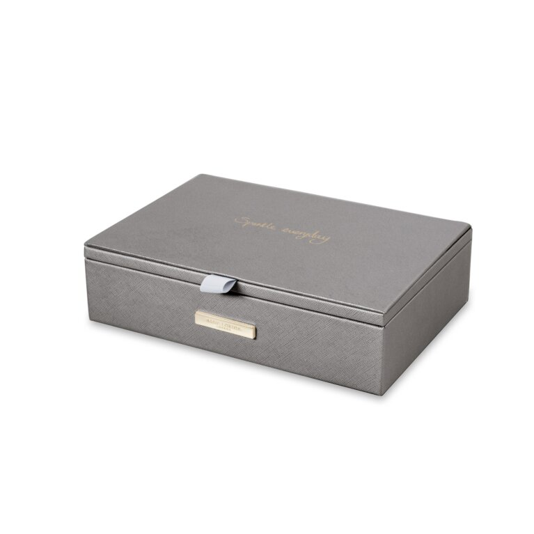 Jewelry Box | Sparkle Everyday | Metallic Charcoal