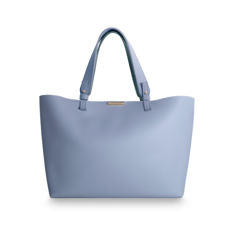 Piper Soft Tote Handbag | Powder Blue