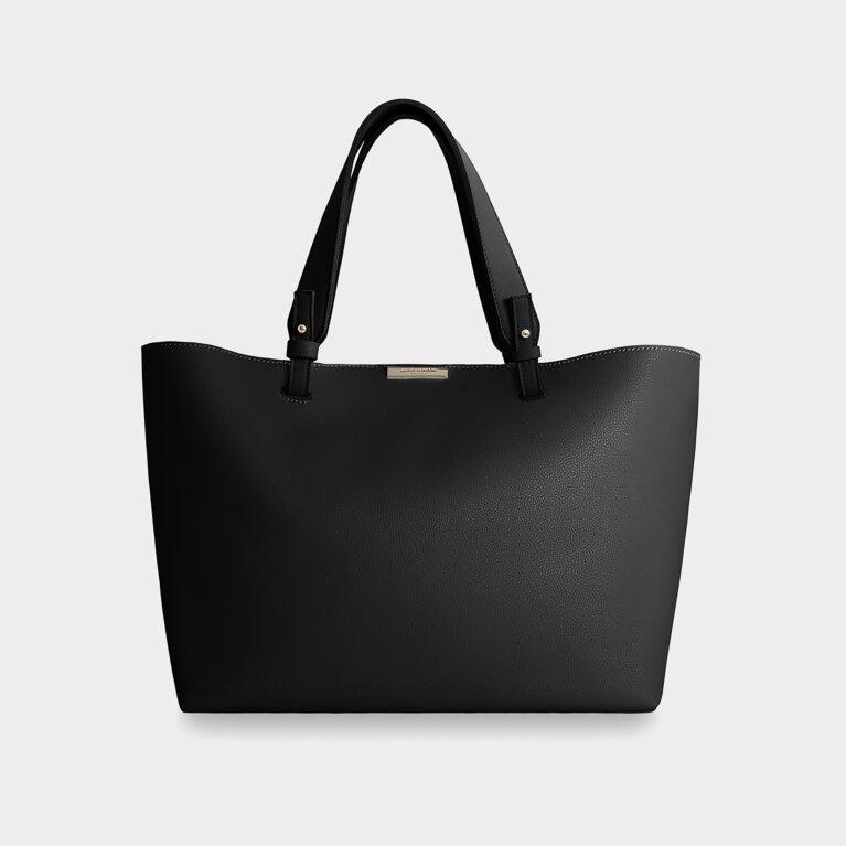 Piper Soft Tote Bag | Black