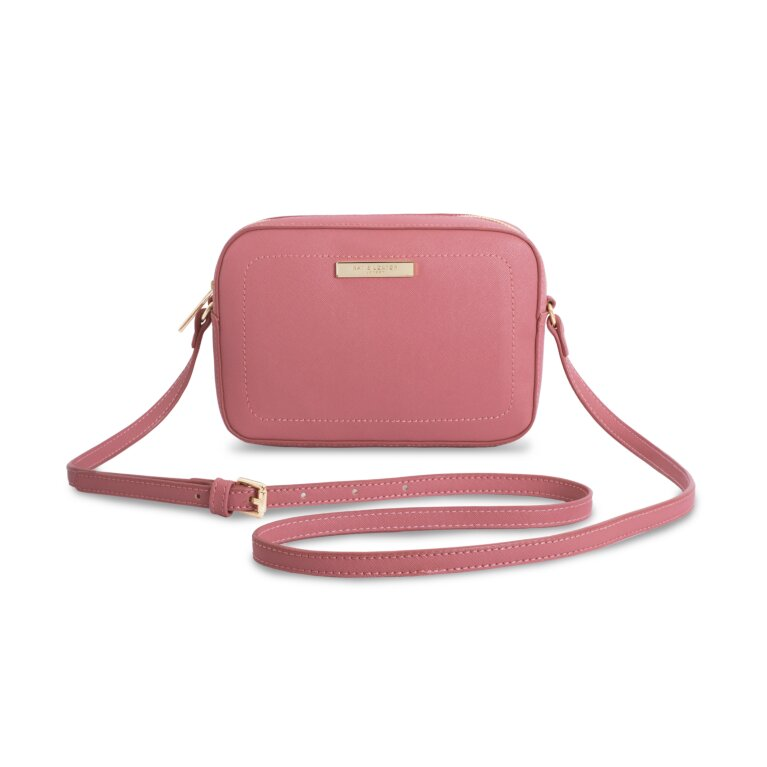 Loulou Cross Body Bag Blush In Berry Pink