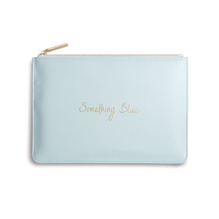 Perfect Pouch Something Blue In Pale Blue
