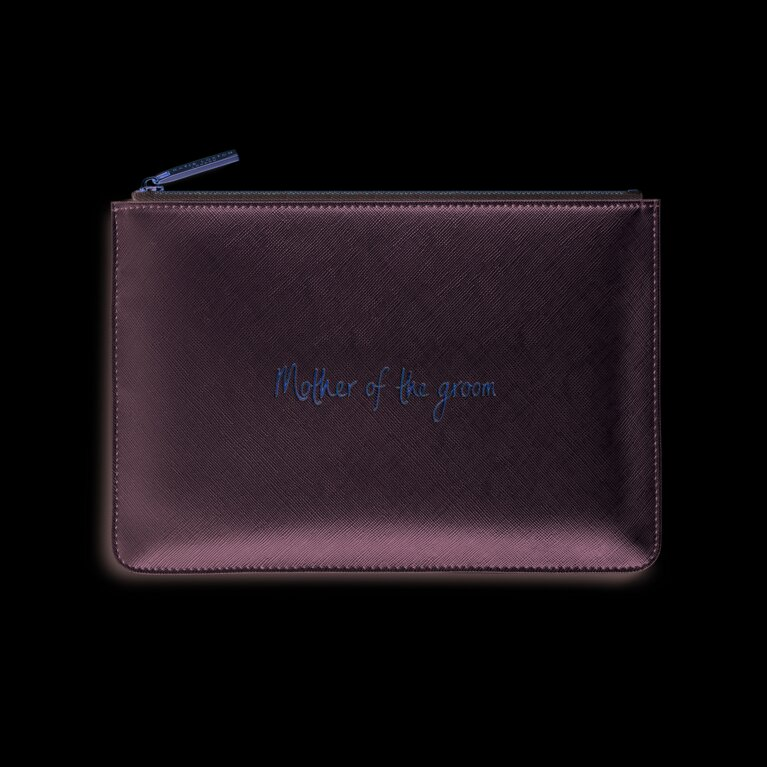 Perfect Pouch | Mother Of The Groom | Metallic Silver