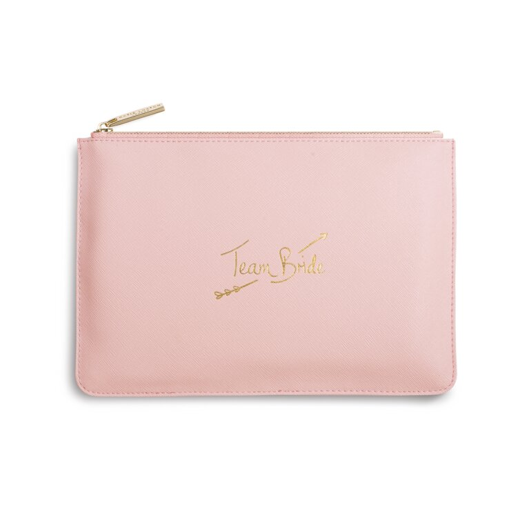 Perfect Pouch | Team Bride | Pink