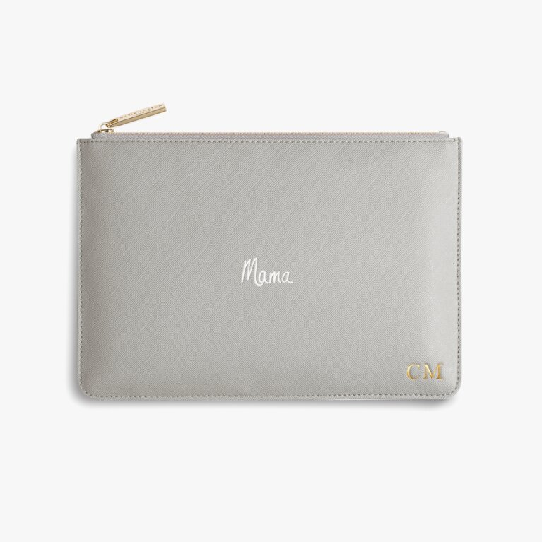 Perfect Pouch Mama In Grey