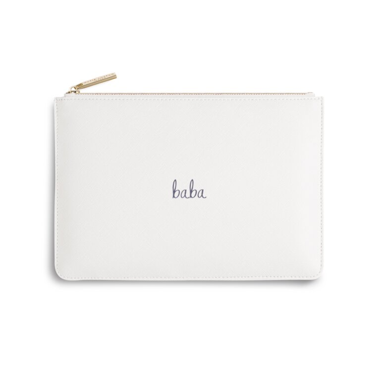Perfect Pouch | Baba | White