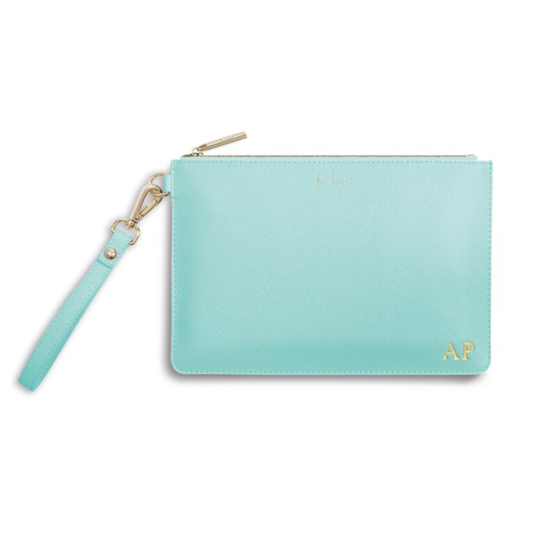 Secret Message Pouch | Be Bright, Be Happy Be Bright Be You! | Mint