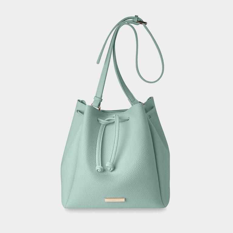 Chloe Bucket Bag | Aqua