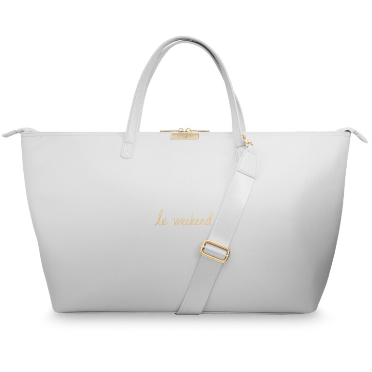Weekend Bag | Le Weekend | Soft Grey