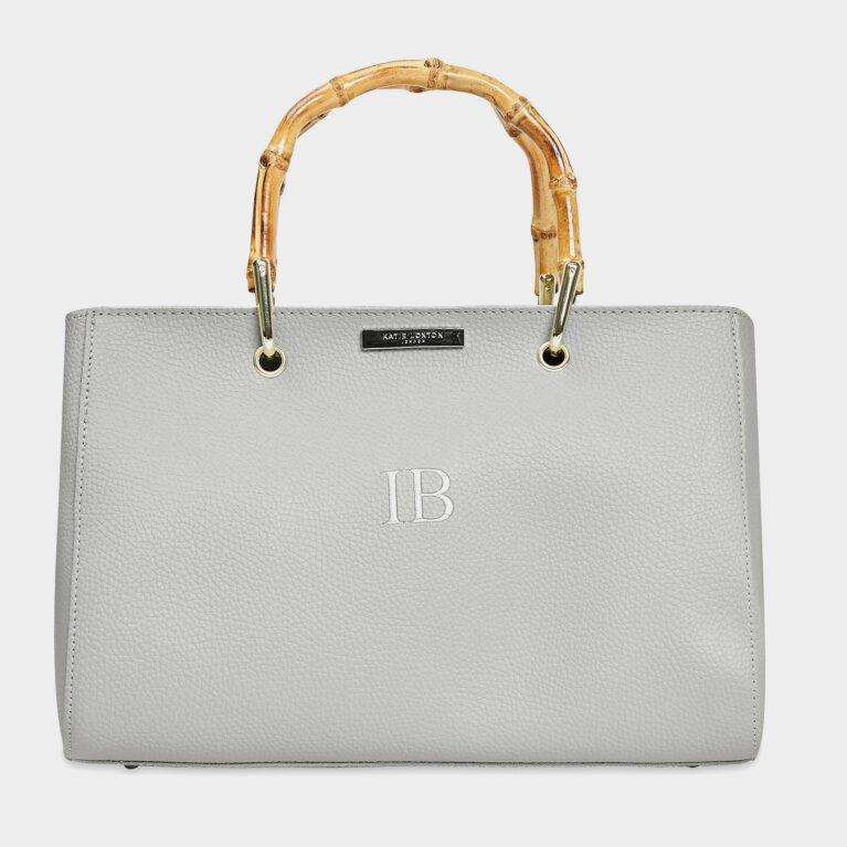 Avery Bamboo Bag | Grey