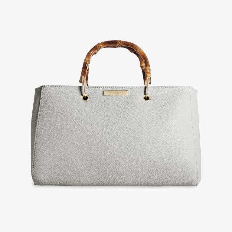 Avery Bamboo Handbag | Gray