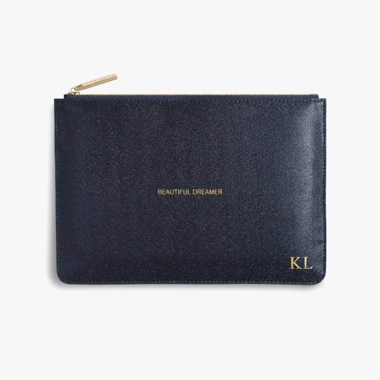 Perfect Pouch | Beautiful Dreamer | Shiny Blue