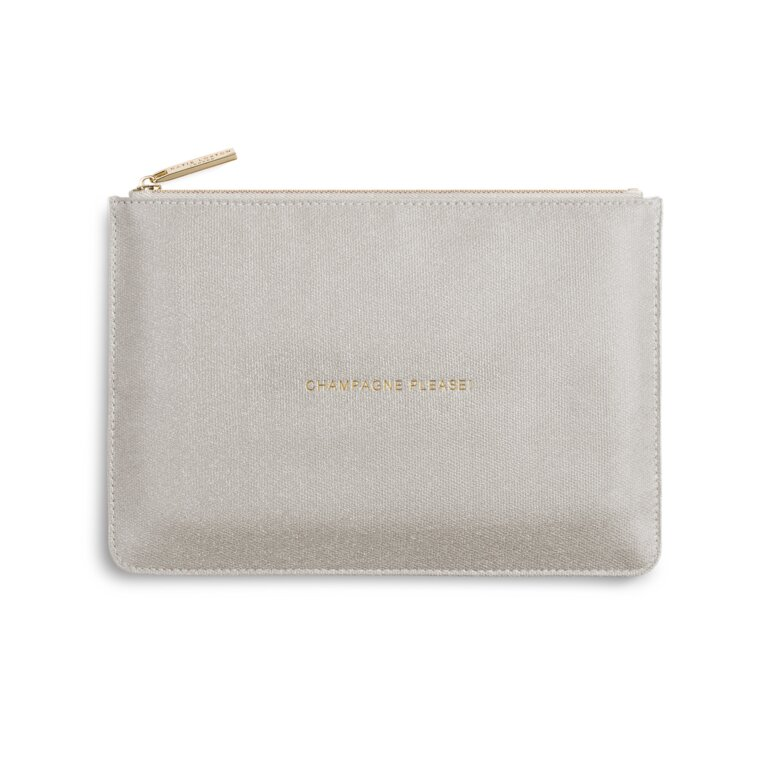 Perfect Pouch | Champagne Please | Shiny Champagne