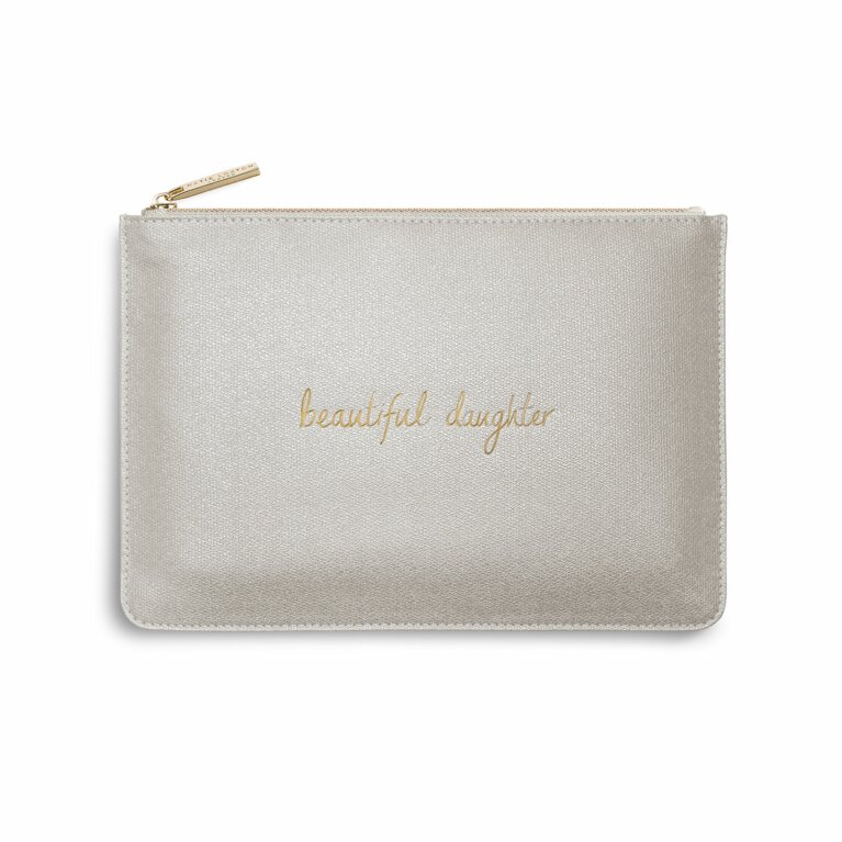 Perfect Pouch | Beautiful Daughter | Champagne Shimmer
