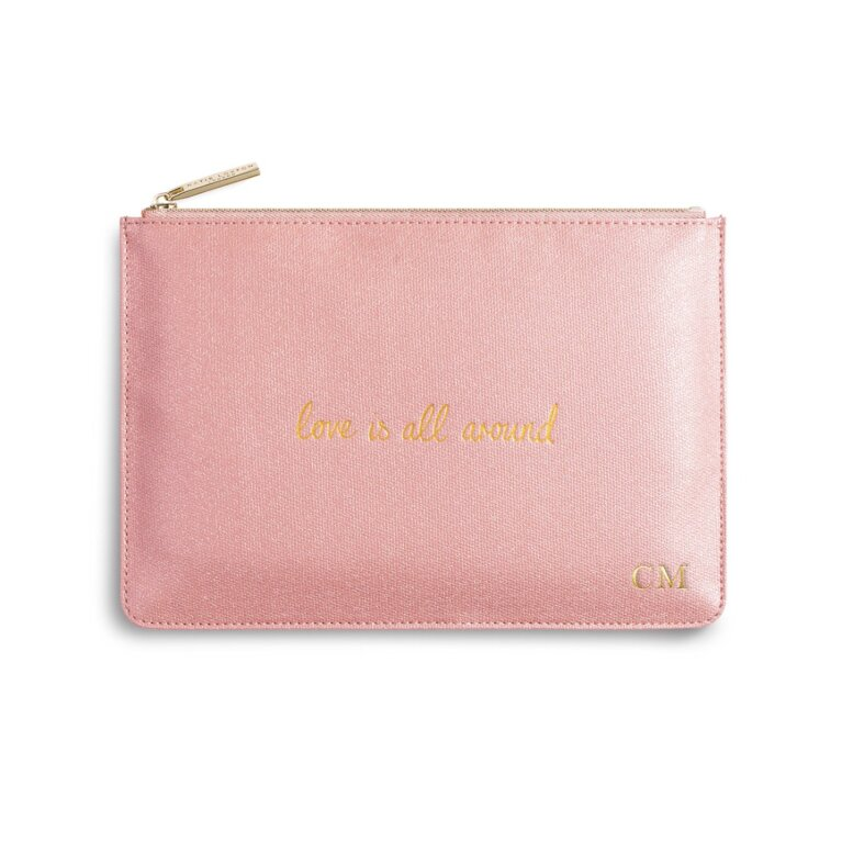 Perfect Pouch   Love Is All Around   Pink Shimmer