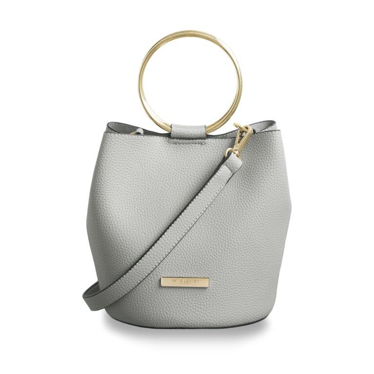 Suki Mini Bucket Bag | Pale Grey