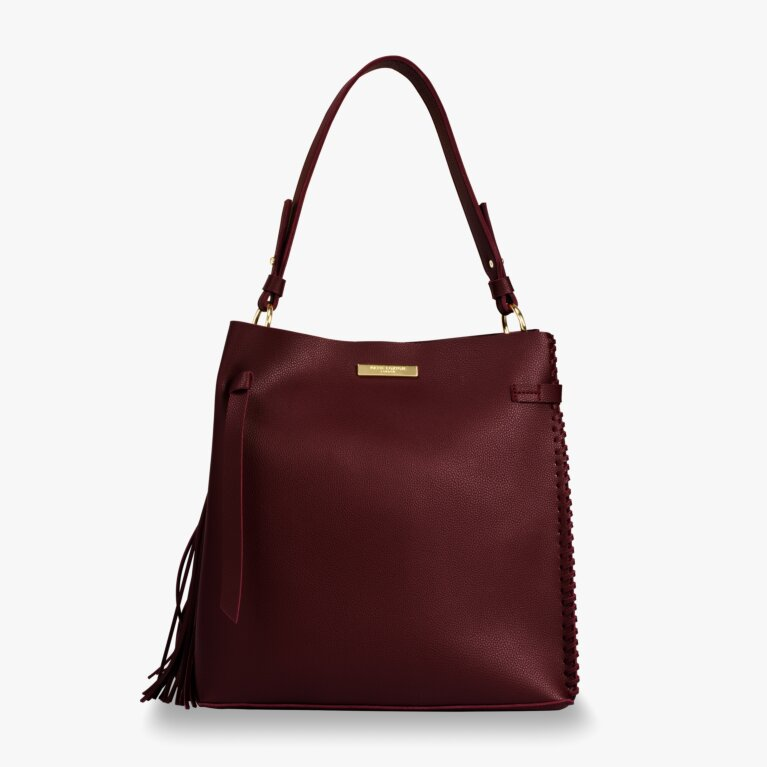 Florrie Bag | Burgundy