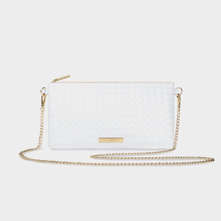 Freya Cross Body Bag | White
