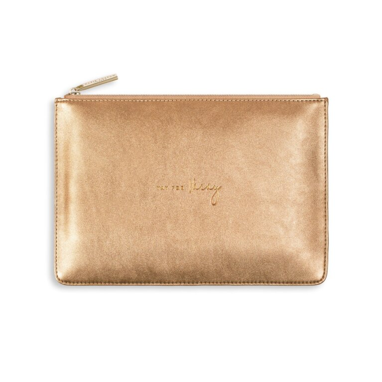 Perfect Pouch | Yay For Vacay | Bronze