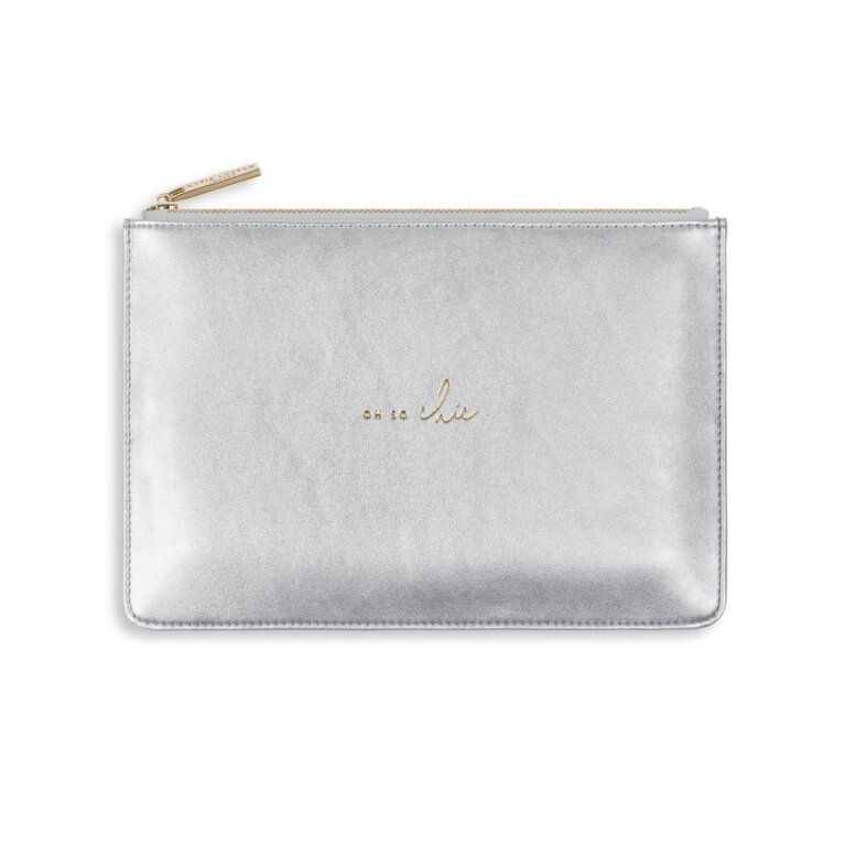 Perfect Pouch | Oh So Chic | Silver