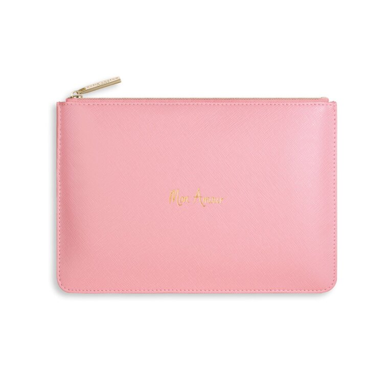 Perfect Pouch | Mon Amour | Pale Pink