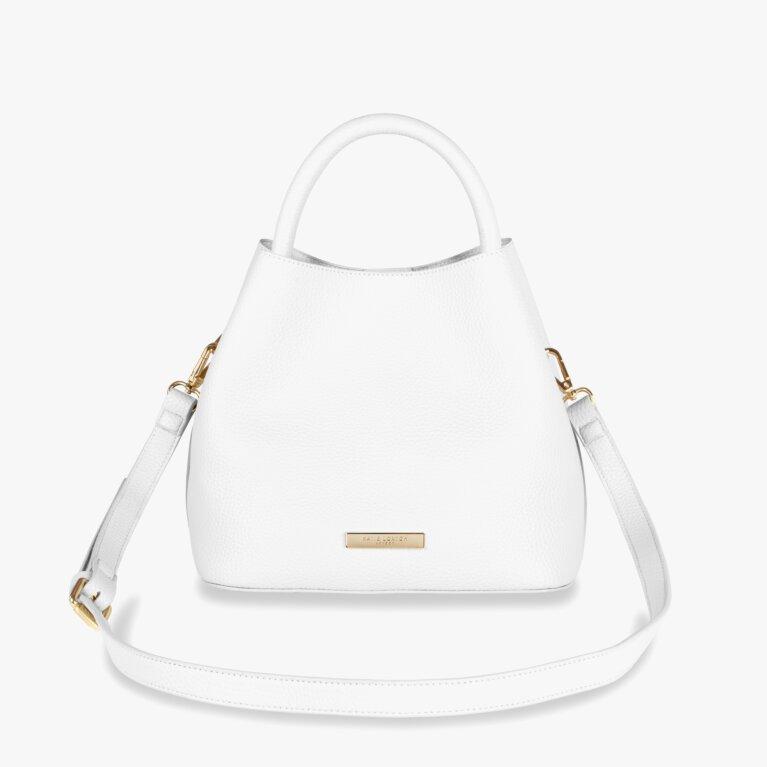Sienna Slouch Crossbody Bag | Soft White