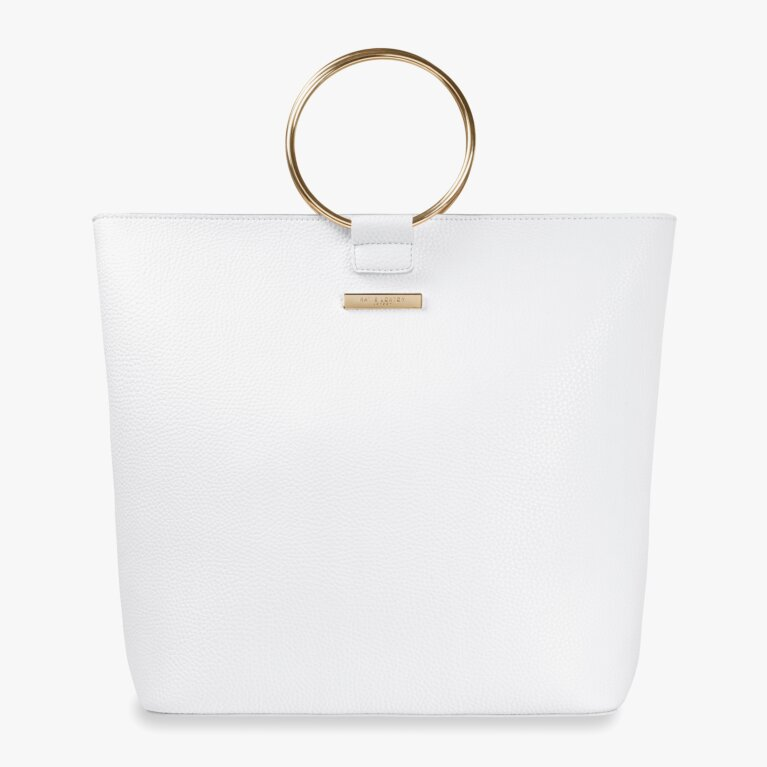 Suki Tote Bag | White