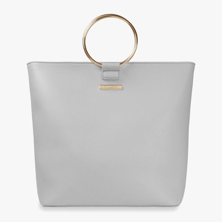 Suki Tote Bag | Pale Grey