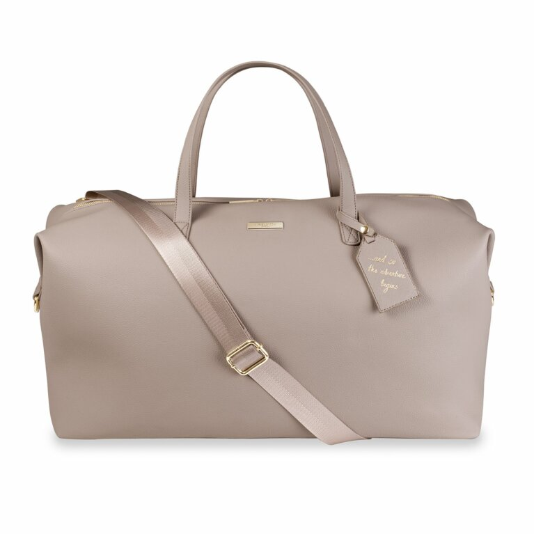 Weekend Holdall Duffle Bag | Taupe