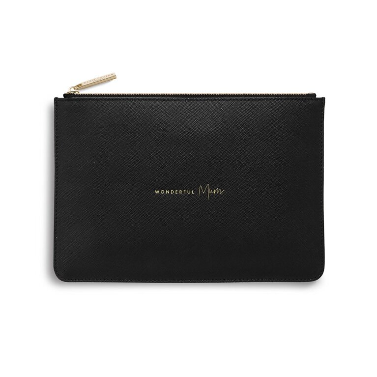 Perfect Pouch | Wonderful Mum | Black