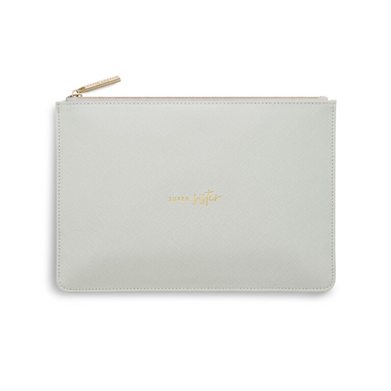 Perfect Pouch | Super Sister | Pale Grey