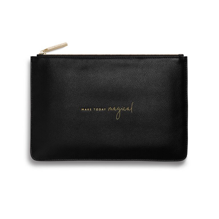 Perfect Pouch | Make Today Magical | Black