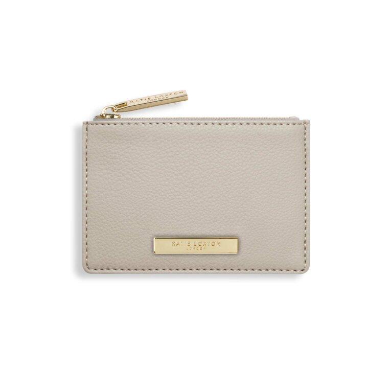 Alise Card Holder | Stone