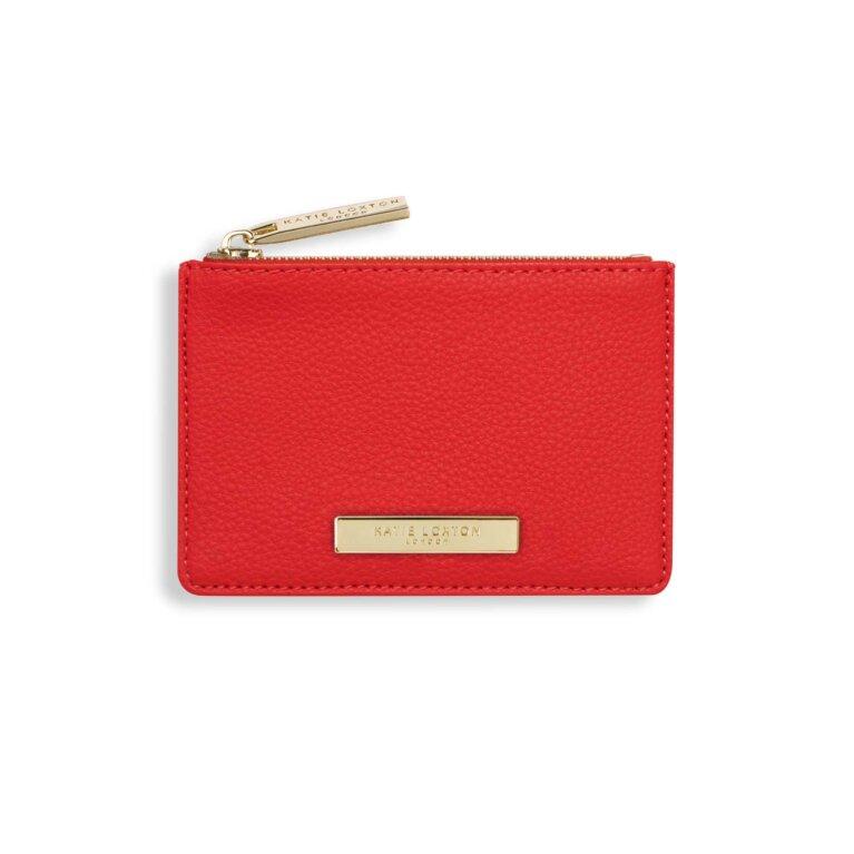 Alise Card Holder | Red