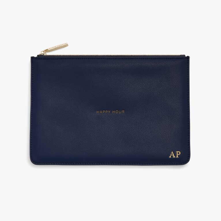 Perfect Pouch Happy Hour In Navy