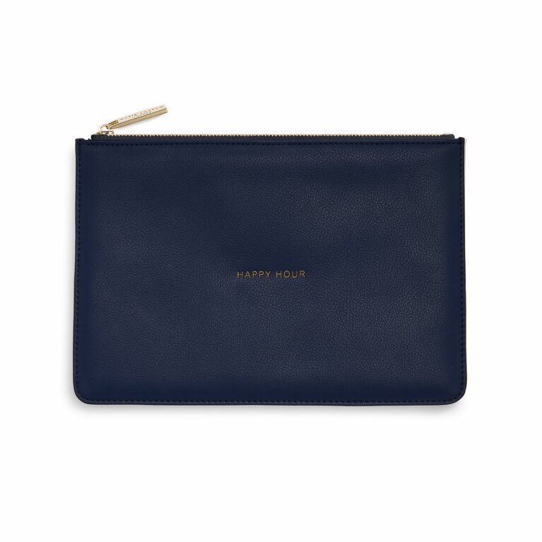 Perfect Pouch | Happy Hour | Navy