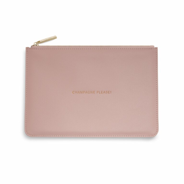 Perfect Pouch | Champagne Please | Pink