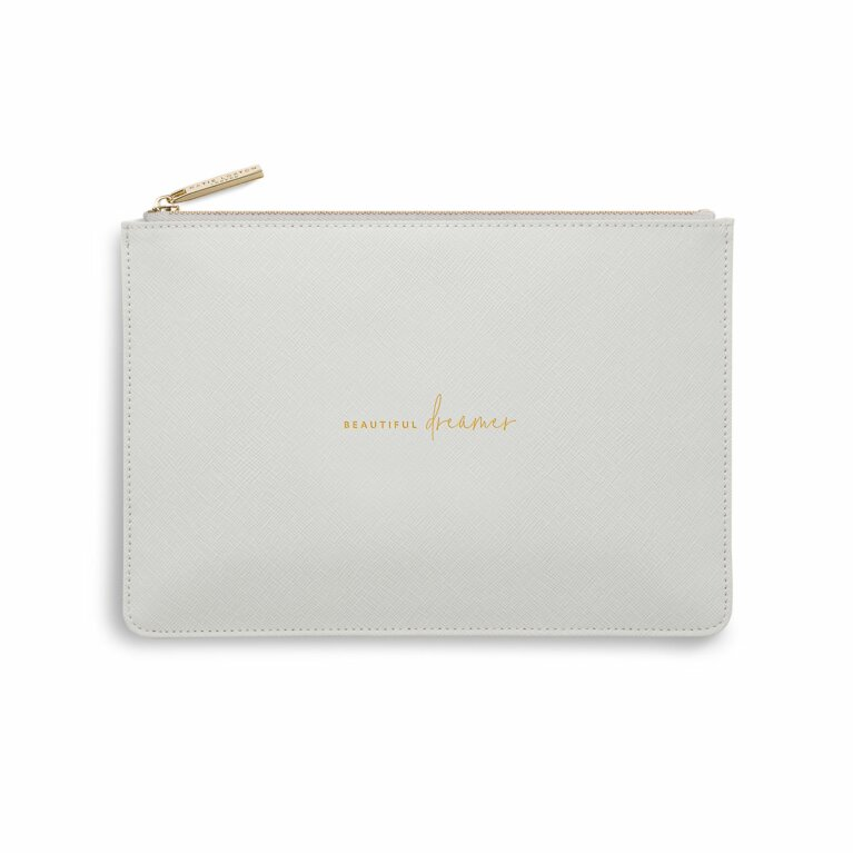 Perfect Pouch | Beautiful Dreamer | Pale Grey