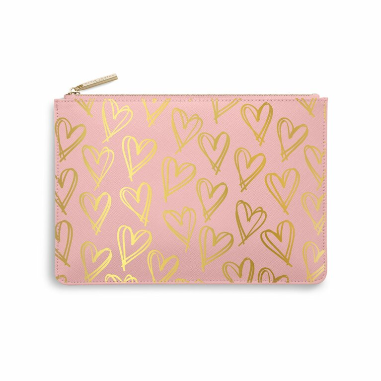 Perfect Pouch | Heart Print