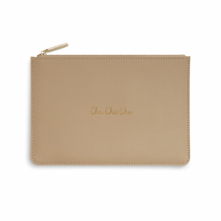 Perfect Pouch | Chic Chic Chic | Tan