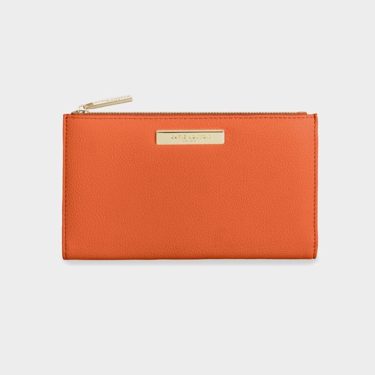 Alise Soft Pebble Purse | Burnt Orange