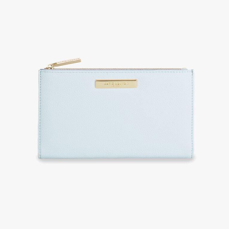 Alise Soft Pebble Purse | Pale Blue