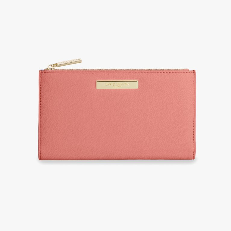 Alise Soft Pebble Purse | Salmon Pink