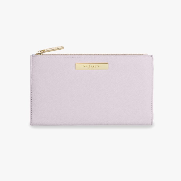 Alise Soft Pebble Purse | Lilac